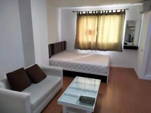 For RentCondoRangsit, Patumtani : ✅ For rent, Lumpini Township Rangsit-Klong 1, size 22 sqm, complete with furniture and appliances ✅