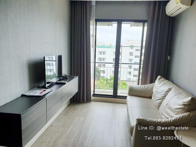 For RentCondoBangna, Lasalle, Bearing : Condo for rent, Villa Lasalle, Sukhumvit 105, 32 sq m, corner room, ready to move in.