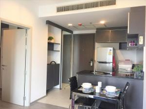 For RentCondoWongwianyai, Charoennakor : SN161 Condo for rent NYE by Sansiri 150m BTS Wongwian Yai has 2 rooms, fully furnished.