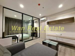For RentCondoRattanathibet, Sanambinna : Condo for rent politan rive, 44th floor, size 31 sq.m., location, river front, beautiful decoration, ready to move in, new room