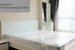 For RentCondoRatchadapisek, Huaikwang, Suttisan : ✅ For rent, Life Ratchada-Huai Khwang, near MRT, size 41 sqm, complete with furniture and appliances ✅