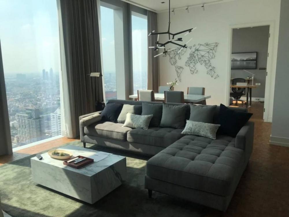 ขายคอนโดสาทร นราธิวาส : 🔥The Ritz - Carlton Residences at MahaNakhon for sell 140 sqm 2bedrooms 2 bathrooms High Floor 44 up
