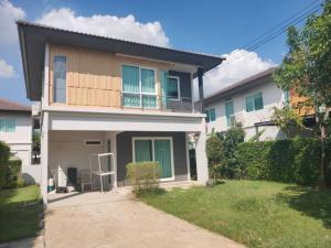 For SaleHouseRangsit, Patumtani : 2 storey detached house for sale, Prueklada 3, Rangsit - Lam Luk Ka Khlong 4, area 63 sq m. Lat Sawai, Lam Luk Ka, Pathum Thani