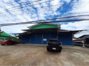 For SaleLandChiang Mai, Chiang Rai : Land for sale with warehouse in Chiang Rai, area 3 ngan, 3 square meters.