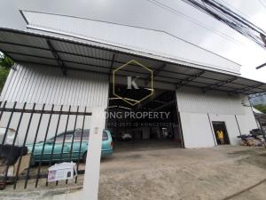 For RentFactoryNawamin, Ramindra : for rent Warehouse / factory / warehouse  with office, Tha Raeng, Bang Khen