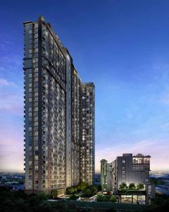 For RentCondoRama9, RCA, Petchaburi : Condo for rent Circle Phetchaburi 36, near MRT Phetchaburi, BTS Nana, ready to move in, 48 sqm, starting price 18,000 baht.