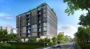 For RentCondoNana, North Nana,Sukhumvit13, Soi Nana : Condo for rent Circle Rein Sukhumvit 12, near BTS Asoke and MRT Sukhumvit, ready to move in, 30 sqm, starting price 23,000 baht.