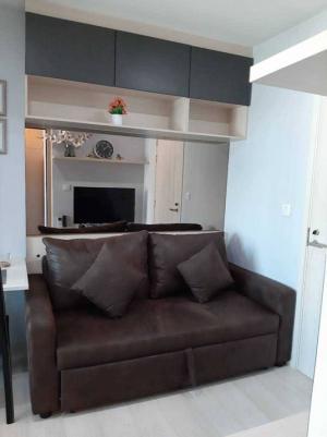 For RentCondoRama9, RCA, Petchaburi : For rent, Life Asoke, 30 sqm., 1 bedroom, 19th floor, not hot. View Rama 9 rental fee 18,000 baht
