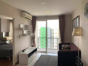 For RentCondoLadkrabang, Suwannaphum Airport : Condo for rent, Airlink Residence Condo, size 36 square meters, special price 7,000