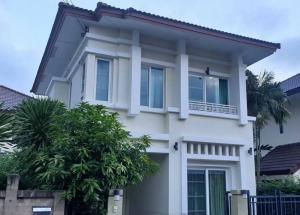 For RentHouseBangna, Lasalle, Bearing : House for rent near BTS Bearing, The Centro Sukhumvit 113, 3 bedrooms, 2 bathrooms, beautiful, fully furnished, ready to move in, please contact 0823223695.