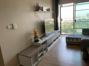For RentCondoRattanathibet, Sanambinna : Condo for rent, Amber by Eastern Star, 2 bedrooms, near MRT Tiwanon.