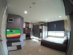 For SaleCondoRama5, Ratchapruek, Bangkruai : Condo for sale Lumpini Ville Nakhon In - River View ** 1 bedroom, 5th floor, new interior, built-in tiles **