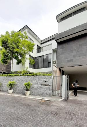 For RentHouseYothinpattana,CDC : Sell and rent a single house, The Honor (THE HONOR) Soi Ladprao 81, Pradit Manutham Road 8 - Modern, comfortable, luxury house with a private saltwater swimming pool.