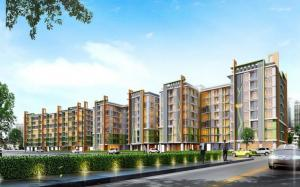For RentCondoRatchadapisek, Huaikwang, Suttisan : Emerald Residence Ratchada, near MRT Huai Khwang, ready to move in 23 sqm, starting price 8,000 baht Line ID : @condobkk