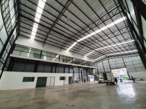 For RentWarehouseYothinpattana,CDC : Warehouse for rent Ramintra Along Ramindra Expressway 1,400 sq m, 290 sq m, new condition, Tel 0990964478