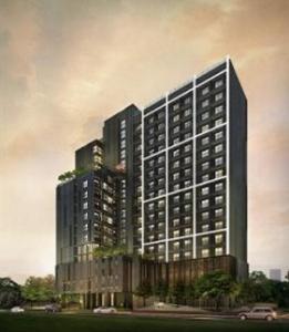 For RentCondoRatchadapisek, Huaikwang, Suttisan : Condo for rent, Fuse Miti Sutthisan-Ratchada, near MRT Sutthisan, ready to move in, 30 sqm, starting price 11,500 baht