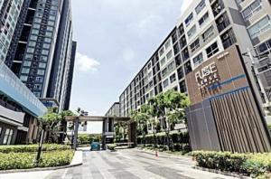 For RentCondoBang kae, Phetkasem : Condo for rent, Fuse Sense 'Bang Khae, near BTS Bang Wa and MRT Lak Song, ready to move in, 27 sqm, starting price 7,500 baht