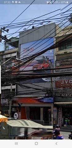 For RentShophouseSilom, Saladaeng, Bangrak : 4-storey commercial building for rent in Charoen Krung area On Charoen Krung Road near BTS Saphan Taksin Near Robinson Bangrak