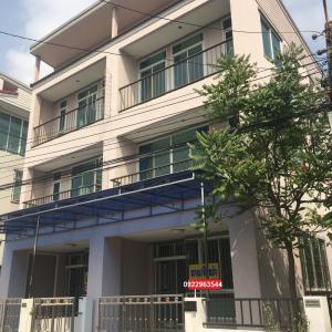 For RentTownhouseRamkhamhaeng,Min Buri, Romklao : 4929 Townhome for rent Rom Klao 50 suitable for home office registration.