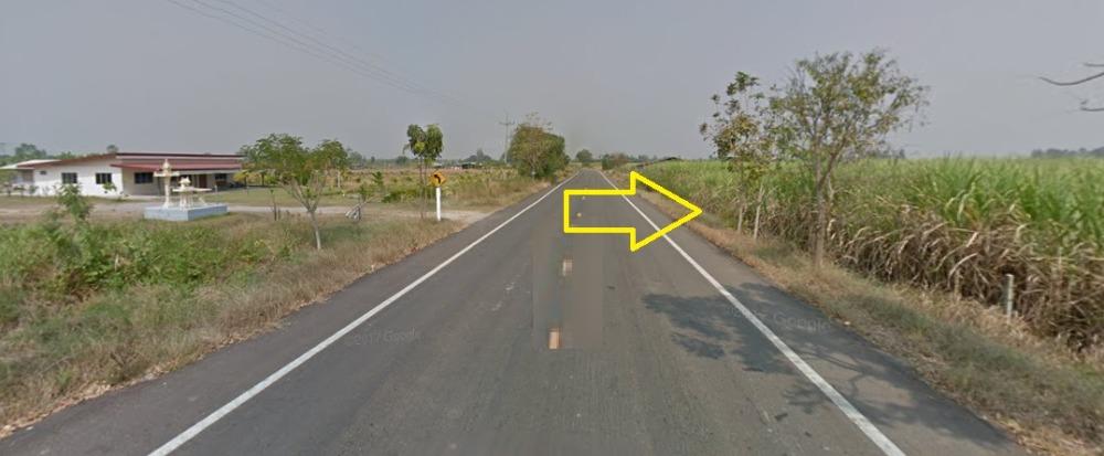 For SaleLandRatchaburi : Land for sale 4 rai Thap Tako border, Chom Bueng