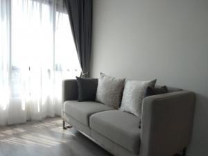For RentCondoBangna, Lasalle, Bearing : Urgent rent, Knightbridge Condo, Bearing, 1 bedroom, 1 bathroom, special price, only 12,000 baht
