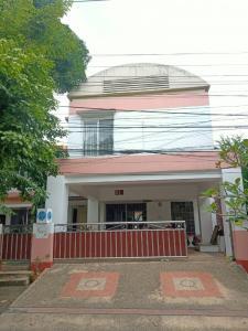 For SaleHouseSamrong, Samut Prakan : Cheap house for sale, Noble Park Village, 96 sq m, Soi Luang Pho To Bangna-Trad Km.13.