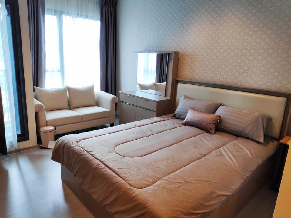 For RentCondoRama9, RCA, Petchaburi : Condo for rent, Life Asoke, Rama 9 (Condo Life Asoke - Rama 9) - Studio room 1 bathroom