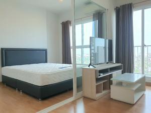 For RentCondoBang Sue, Wong Sawang : For rent, Parkland Ratchada-Wong Sawang, 31 sq m. 1 bedroom with washing machine 8,000 baht / month.