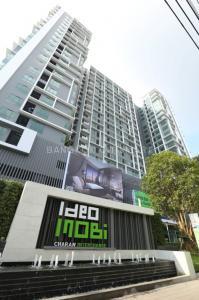 For RentCondoPinklao, Charansanitwong : Ideo Mobi Charan - Interchange, near MRT Bang Khun Non, ready to move in, 22 sqm, starting price 8,000 baht Line ID : @condobkk