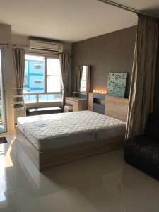 For RentCondoLadkrabang, Suwannaphum Airport : Rent a luxury room at an affordable price, Condo Iris Avenue On Nut - Ladkrabang, Suvarnabhumi Iris Avenue Onnuch - Suvarnabhumi, sunny room, fully furnished, near Suvarnabhumi Airport, near The Paseo and Robinson department stores.