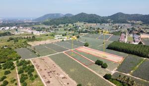 For SaleLandHua Hin, Prachuap Khiri Khan, Pran Buri : Mountain view Land for sale
