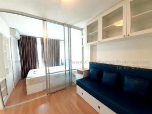 For RentCondoLadkrabang, Suwannaphum Airport : Lumpini Ville On Nut - Ladkrabang Total area 22.54, 2nd floor, rental price (baht / month) 5,500 ฿