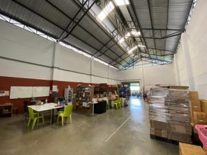 For SaleWarehouseRangsit, Patumtani : Office for sale with warehouse, TK Factory Park, Lat Lum Kaeo, purple area, good condition, can request a factory license