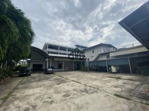 For SaleFactoryKhlongtoei, Kluaynamthai : Factory for sale, warehouse, Rama 4, Klong Toey, seafood storage with license Ror.4, near the pier and Chao Phraya River
