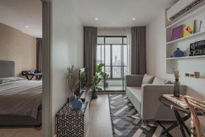 For RentCondoThaphra, Wutthakat : Condo for rent, Ideo Sathorn-Thapra, 25th floor, Re63-0140.