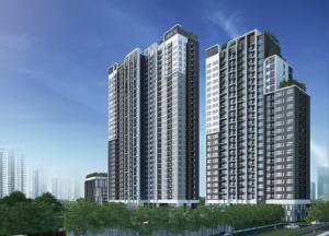 For RentCondoOnnut, Udomsuk : Condo for rent, Aspire Sukhumvit 48, near BTS Phra Khanong, ready to move in, 32 sqm, starting price 13,000 baht