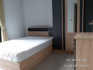For RentCondoRama9, RCA, Petchaburi : Condo for rent, Life Asoke - Rama 9, next to MRT Rama 9, first hand room