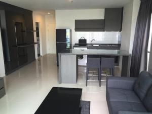 For RentCondoRama9, RCA, Petchaburi : Condo for rent: Aspire rama9, Floor 12A, 2 bedrooms, 67 sq.m., next to MRT Rama 9, complete facilities.