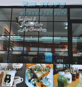 For LongleaseRetailRatchadapisek, Huaikwang, Suttisan : Lease a coffee shop in front of the University of the Chamber of Commerce, very good location