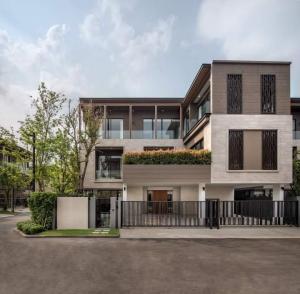 ขายบ้านพัฒนาการ ศรีนครินทร์ : Selling : Single House with Private Lift & Ev Charger in Rama 9 - Srinakarin , 400 sqm , 4 bed 4 Bath , 3 Floor