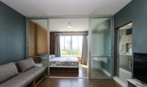 For RentCondoChiang Mai : 30 Sqm D Condo Nim 5th floor 1 bedroom Apartment Near Central Festival Rent: 9,500 Baht/month