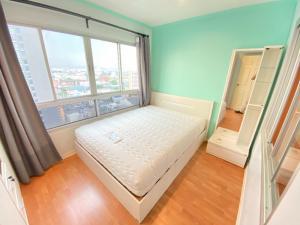 For RentCondoRamkhamhaeng, Hua Mak : Lumpini Ramkhamhaeng 44 One Bed 35 Sqm Floor 21 Building A 7,500 baht 064-959-8900