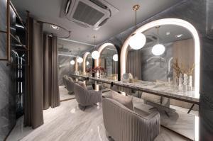 For RentCondoSukhumvit, Asoke, Thonglor : Hot Deal for rent CELES Asoke luxury condo near BTS asoke , MRT sukhumvit!!!
