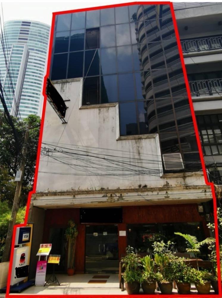 ขายตึกแถว อาคารพาณิชย์สุขุมวิท อโศก ทองหล่อ : อาคารพาณิชย์ 5 ชั้น สุขุมวิท 20