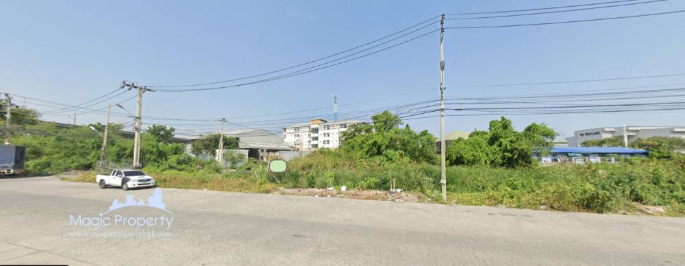 For SaleLandSamrong, Samut Prakan : Land For Sale Corner 2 Rai 1 Ngan in Sisa Chorakhe yai, Bang Sao Thong,Sisa Chorakhe yai, Samut Prakan