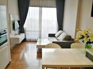 For RentCondoRatchadapisek, Huaikwang, Suttisan : IVY AMPIO for rent 44 sqm. 23,000 B/Month
