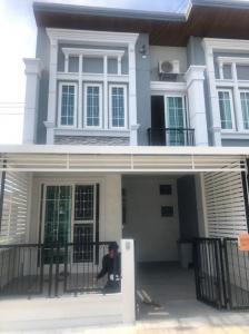 For SaleTownhouseLadkrabang, Suwannaphum Airport : ✅ 2 storey townhome for sale, Golden Town 3, Bangna-Suan Luang, size 16.9 sq m ✅