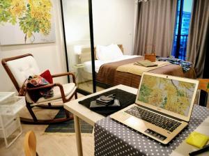 For SaleCondoRatchadapisek, Huaikwang, Suttisan : ลดราคาขาย ห้อง Studio ชั้น 6 คอนโด Fuse Miti ราคา 2.65M ต่ำกว่าราคาตลาด