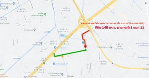 For SaleLandRama 2, Bang Khun Thian : Land for sale, Rama 2 Road, Soi Bang Kradee 1, intersection 9-11, Samae Dam, Bang Khun Thian, suitable for planting houses, warehouses, on public roads, near Central Rama 2
