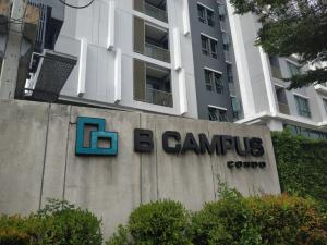 For SaleCondoChengwatana, Muangthong : B-Campus Condo for sale, new room, never been one of the first tools, 8th floor.